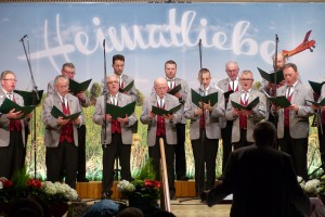 Jahresfeier Hellershof 2016 Männerchor